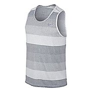 Mens Nike DF Cool Tailwind Stripe Tanks Technical Top