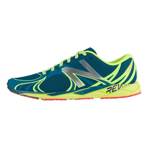 Mens New Balance 1400v3 Running Shoe - Blue/Yellow 12
