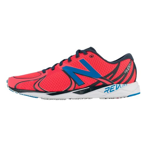 Mens New Balance 1400v3 Running Shoe - Red/Blue 7.5