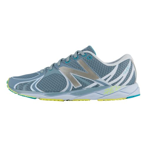 Womens New Balance 1400v3 Running Shoe - Grey/Light Blue 9