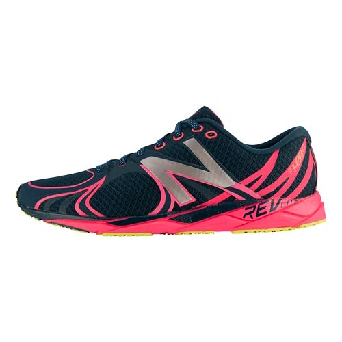 Womens New Balance 1400v3 Running Shoe - Navy/Pink 9.5