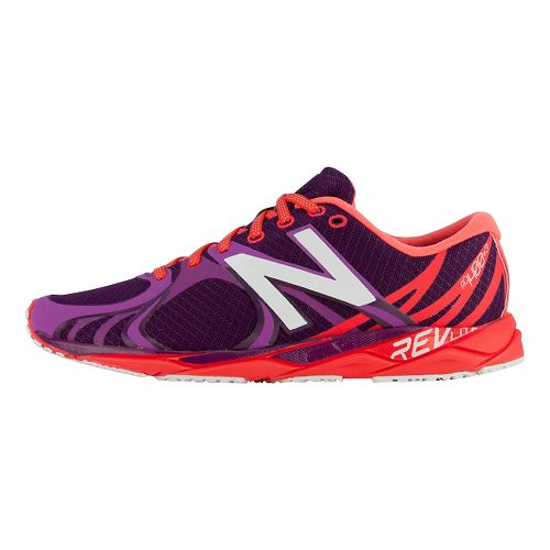 Womens New Balance 1400v3 Running Shoe - Purple/Red 11