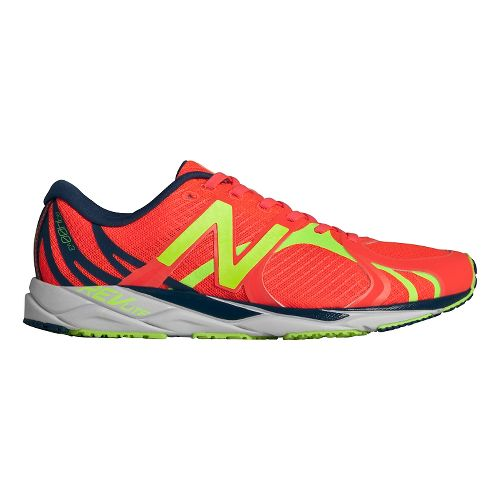 Womens New Balance 1400v3 Running Shoe - Pink/Yellow 5.5