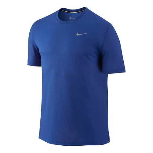 Mens Nike DF Cool Tailwind Short Sleeve Technical Top - Daring Red L