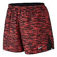 "Mens Nike 4"" Racer Printed Lined Shorts"
