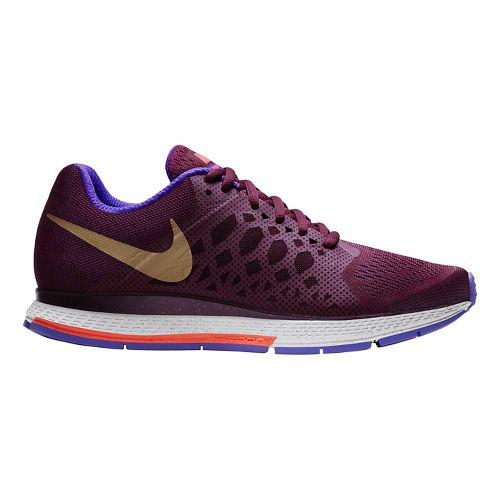 Women's Nike Air Zoom Pegasus 31 QS Running Shoe - Garnet 11