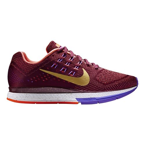 Women's Nike Air Zoom Structure 18 QS Running Shoe - Garnet 11