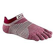 Womens Injinji RUN Lightweight No Show CoolMax Socks