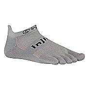 Injinji RUN Original Weight No Show Socks - Grey L