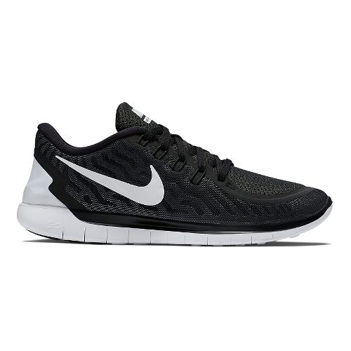 Mens Nike Free 5.0 Running Shoe - Black 10.5