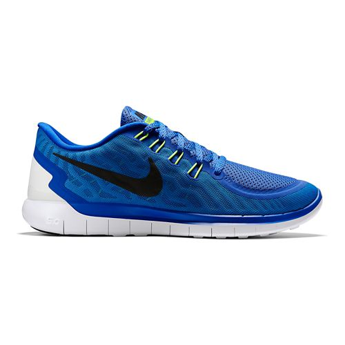 Mens Nike Free 5.0 Running Shoe - Blue 11
