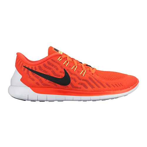 Mens Nike Free 5.0 Running Shoe - Bright Crimson 8.5