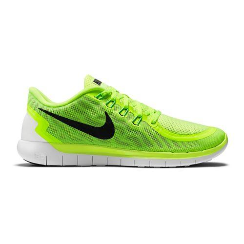 Mens Nike Free 5.0 Running Shoe - Volt 9.5
