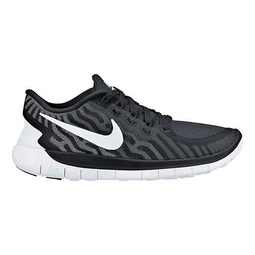 Womens Nike Free 5.0 Running Shoe - Black 7