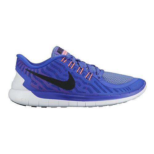 Womens Nike Free 5.0 Running Shoe - Violet 7.5