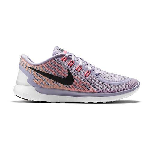 Womens Nike Free 5.0 Running Shoe - Titanium/Lava 8