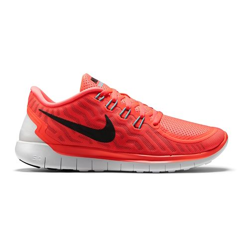 Womens Nike Free 5.0 Running Shoe - Lava 8
