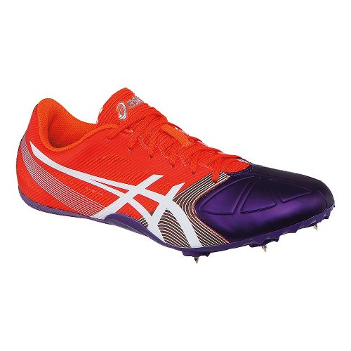 Womens ASICS Hyper-Rocketgirl SP 6 Track and Field Shoe - Orange/Purple 5.5