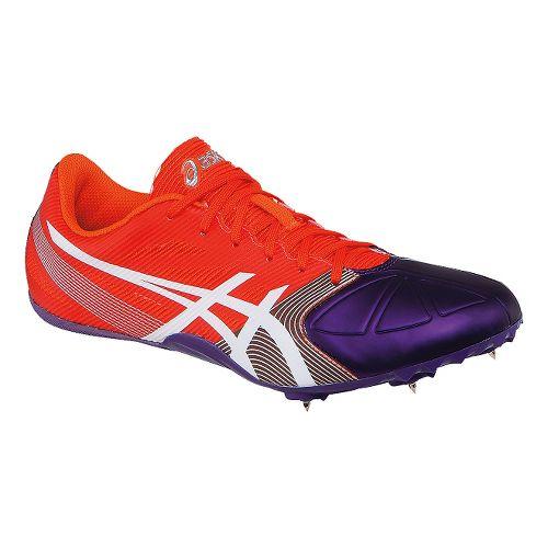 Womens ASICS Hyper-Rocketgirl SP 6 Track and Field Shoe - Orange/Purple 8.5