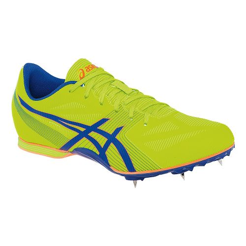 Mens ASICS Hyper MD 6 Track and Field Shoe - Flash Yellow 4.5