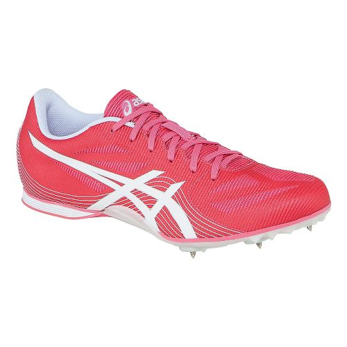 Womens ASICS Hyper-Rocketgirl 7 Track and Field Shoe - Watermelon/White 12