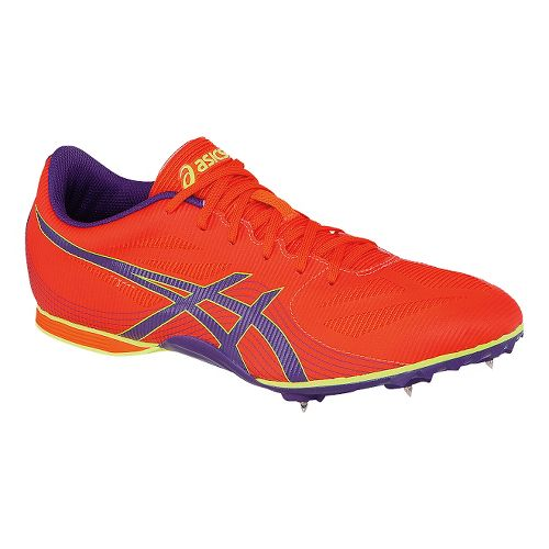 Womens ASICS Hyper-Rocketgirl 7 Track and Field Shoe - Orange/Purple 9