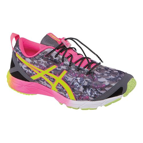 Womens ASICS GEL-Hyper Tri Running Shoe - Onyx/Pink 11.5