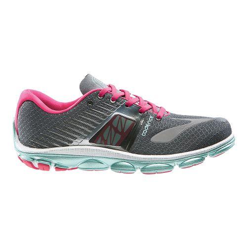 Womens Brooks PureCadence 4 Running Shoe - Urban Grey/Raspberry 5.5