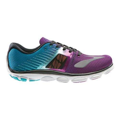 Womens Brooks PureCadence 4 Running Shoe - Purple/Blue 9