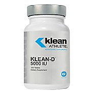 Klean Athlete Vitamin D 5000 IU Supplement