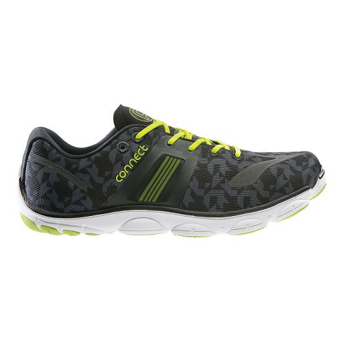 Mens Brooks PureConnect 4 Running Shoe - Black/Yellow 7.5