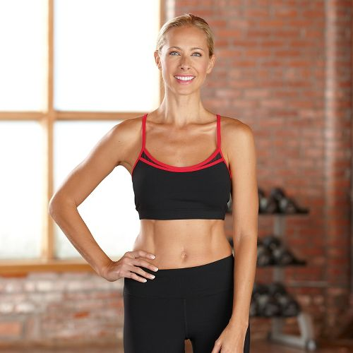 Womens R-Gear Urban Appeal Sports Bra - Black/Poppy Pink M