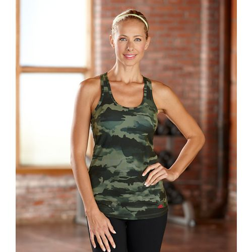 Womens R-Gear Urban Appeal Printed Racerback Tanks Technical Top - Camouflage XS