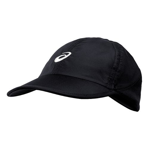 Womens ASICS Mad Dash Cap Headwear - Black