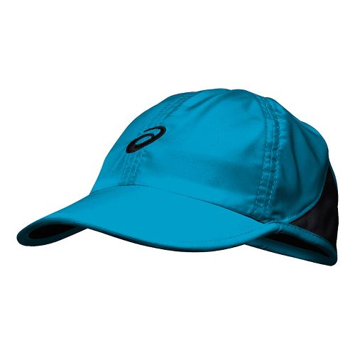 Womens ASICS Mad Dash Cap Headwear - Diva Blue