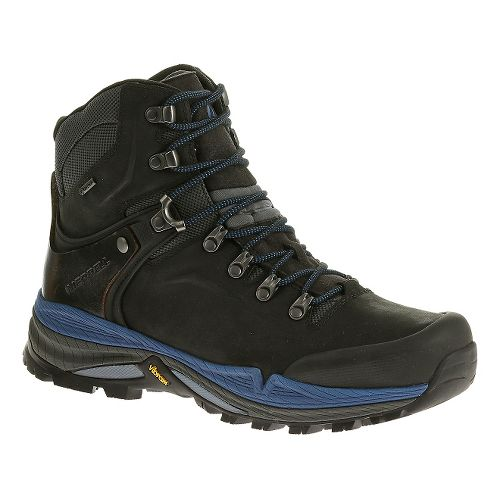 Mens Merrell Crestbound GORE-TEX Hiking Shoe - Black 11.5