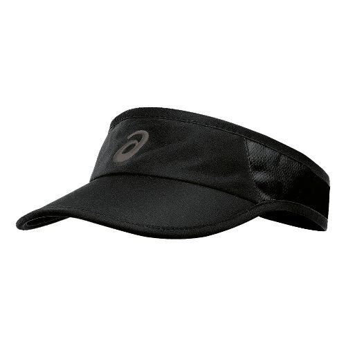 ASICS Mad Dash Visor Headwear - Black/Black