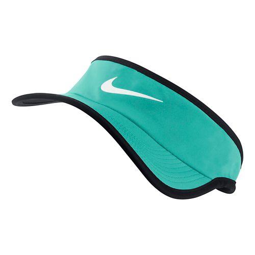 Nike Featherlight Visor Headwear - Light Retro Green