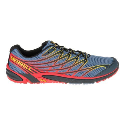 Mens Merrell Bare Access 4 Trail Running Shoe - Flockstone Grey 9