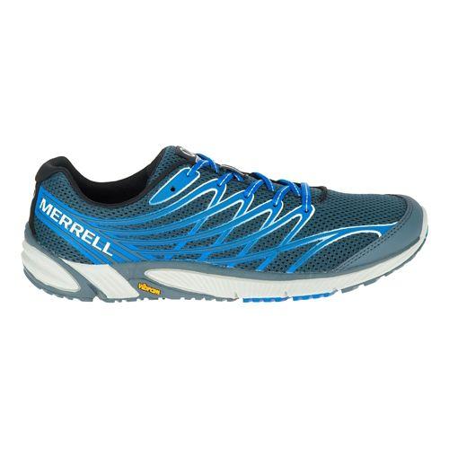 Mens Merrell Bare Access 4 Trail Running Shoe - Dark Slate 9