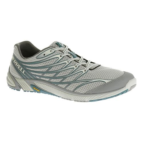 Mens Merrell Bare Access 4 Trail Running Shoe - Light Grey 15