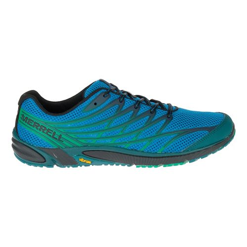 Mens Merrell Bare Access 4 Trail Running Shoe - Mykonos Blue 13