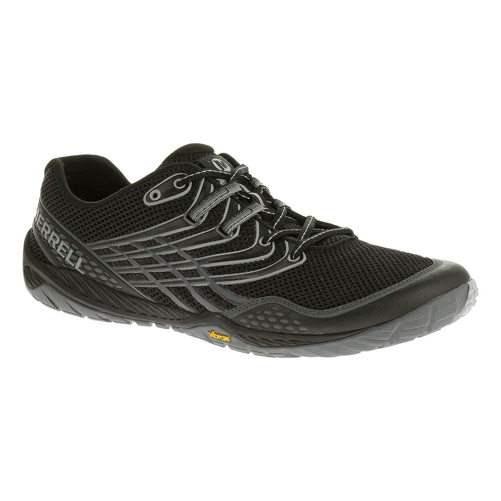 mens merrell trail glove 3 trail running shoes ebay. Black Bedroom Furniture Sets. Home Design Ideas