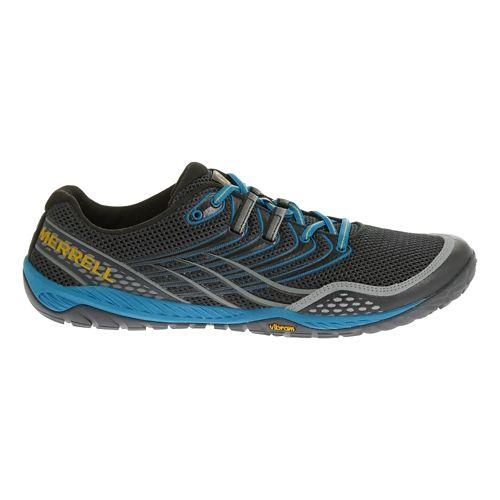 Mens Merrell Trail Glove 3 Trail Running Shoe - Navy/Racer Blue 7