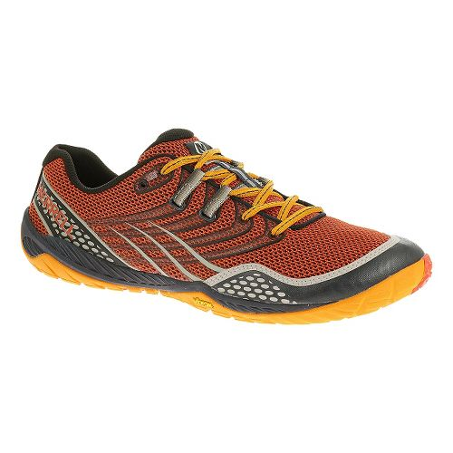 Mens Merrell Trail Glove 3 Trail Running Shoe - Spicy Orange 11