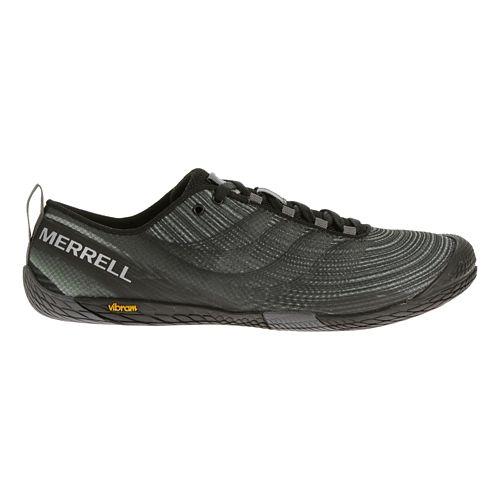 Mens Merrell Vapor Glove 2 Trail Running Shoe - Grey/Spicy Orange 7.5