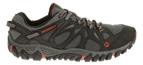 Mens Merrell All Out Blaze Aero Sport Hiking Shoe - Black/Red 9.5
