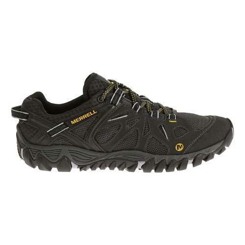 Mens Merrell All Out Blaze Aero Sport Hiking Shoe - Black 10.5