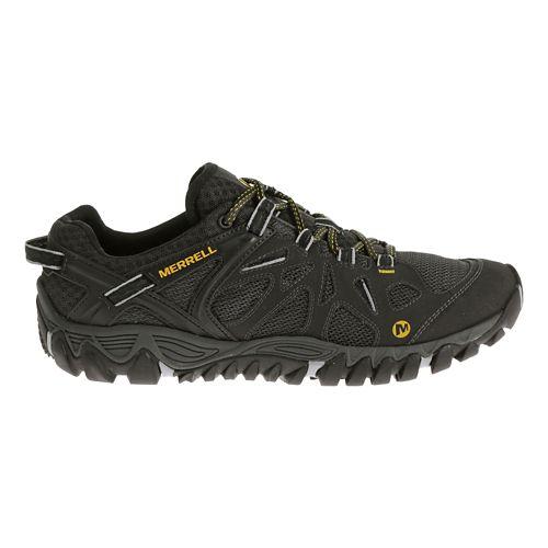 Mens Merrell All Out Blaze Aero Sport Hiking Shoe - Black 8.5