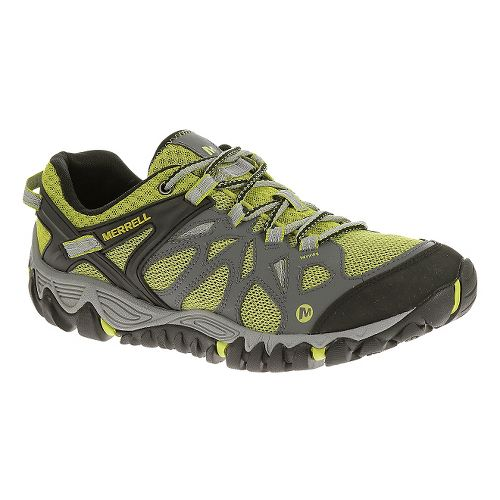 Mens Merrell All Out Blaze Aero Sport Hiking Shoe - Castle Rock 12